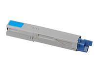 Compatible Okidata 44059111 (C14) Cyan Laser Toner Cartridge