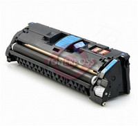 HP Q3971A (123A) Remanufactured Cyan Laser Toner Cartridge
