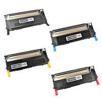 Toner Cartridges Compatible with Samsung CLP-315 Series - Set of 4 Laser Toner Cartridges: 1 each of Black, Cyan, Yellow, Magenta