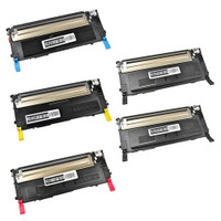 Toner Cartridges Compatible with Samsung CLP-315 Series - Set of 5 Laser Toner Cartridges