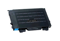 Toner Cartridge Compatible with Samsung CLP-500D5C (CLP-500) Cyan Laser Toner Cartridge