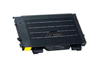 Toner Cartridge Compatible with Samsung CLP-500D5Y (CLP-500) Yellow Laser Toner Cartridge
