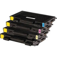 Compatible Samsung CLP-510 Set of 4 High Capacity Laser Toner Cartridges (1 Black, 1 Cyan, 1 Yellow, 1 Magenta)