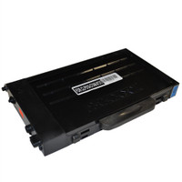 Toner Cartridge Compatible with Samsung CLP-510D5C (CLP-510) High Capacity Cyan Laser Toner Cartridge