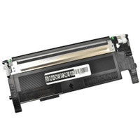 Compatible Samsung CLT-C407S Cyan Laser Toner Cartridge - Replacement Toner for CLP-320, CLP-325, CLX-3185, CLX-3186
