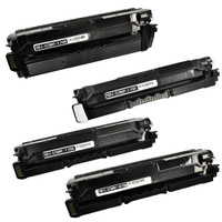 Toner Cartridges Compatible with Samsung CLP-680ND, CLX-6260FD, CLX-6260FW Set of 4 Laser Toner Cartridges
