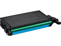 Toner Cartridge Compatible with Samsung CLT-C508L Cyan Laser Toner - Replacement Toner for CLP-620, CLP-670, CLX-6220, CLX-6250