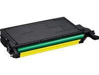 Toner Cartridge Compatible with Samsung CLP-Y660B High Yield Yellow Laser Toner - Replacement Toner for CLP-610, CLP-660, CLX-6200