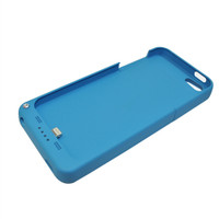 External Battery Case for Iphone 5s (Blue) - 2200 mAh