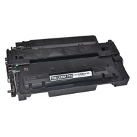 Remanufactured HP CE255A (HP 55A) Black Toner Cartridge Replacement for HP LaserJet P3015