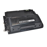 Remanufactured HP Q5942X (HP 42X) Black Laser Toner Cartridge - Replacement Toner for LaserJet 4350