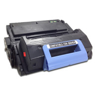 Remanufactured HP Q5945A (HP 45A) Black Laser Toner Cartridge - Replacement Toner for LaserJet 4345, 4345mfp, M4345