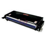Remanufactured Xerox 113R00722 Black Laser Toner Cartridge - Replacement Toner for Phaser 6180, 6180MFP