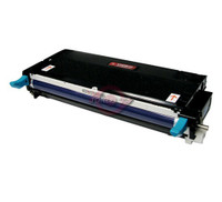 Remanufactured Xerox 113R00723 High Yield Cyan Laser Toner Cartridge - Replacement Toner for Phaser 6180, 6180MFP