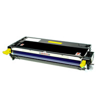 Remanufactured Xerox 113R00725 High Yield Yellow Laser Toner Cartridge - Replacement Toner for Phaser 6180, 6180MFP