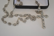 Miraculous Medal Rosary in a Deluxe Box