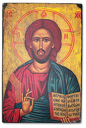 "Christ the Teacher Byzantium Classic Icon - 6.25""W X 9.5""H"