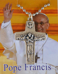 Pope Francis Good Shepherd Pectoral Cross Necklace