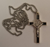 Medium St Benedict Crucifix Necklace