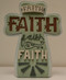 Faith Cross, fonts
