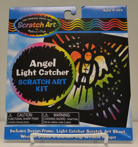 Angel Scratch Art Kit