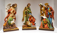 3 piece nativity scene for your mantle