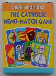 Catholic Memo-Match Game Box