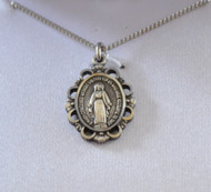 Small Miraculous Medal, front