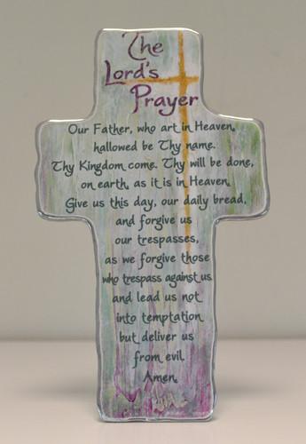 Artmetal Cross - The Lord's Prayer