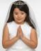Hannah, Tiara communion veil