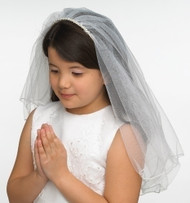 Amelia 1st Holy Communion veil