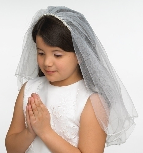 Amelia 1st Holy Communion veil