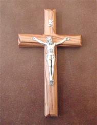 """5"""" olivewood crucifix"""