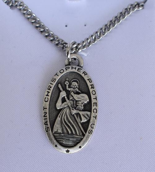 lg st christopher medal