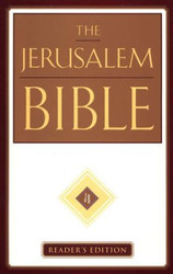The Jerusalem Bible, Reader's Edition, Imprimatur of the Roman Catholic Church, HB