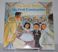 The Night Before My 1st Communion, by Natasha Wing, Signed by Author