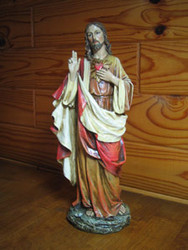 Sacred Heart of Jesus by Joseph's Studio - 10""