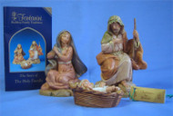 Fontanini 3 piece Holy Family Set - Centennial Collection - 5""