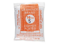 Lawrence Copper Plated Lead Shot #5 10 lb Bag Freight Included