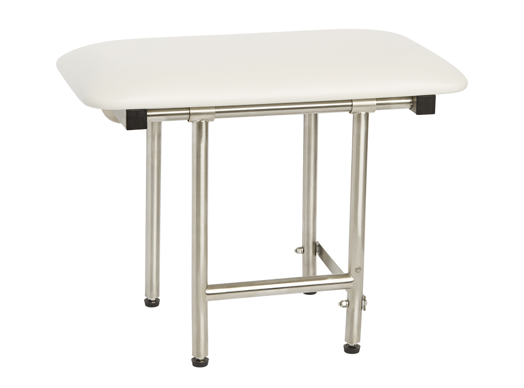 Bench style Shower Seat 22 x 15 Swing Down Legs SSB2-220150