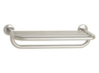 "Seachrome 'Coronado 700 Series' 18"" Towel Shelf & Bar Satin Stainless - 700-8018-SS"