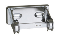 Seachrome Commercial Classic Single Paper Holder With Lock (Qty = 48) - SCA-U811