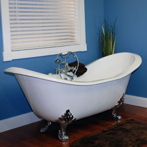 Cambridge Monarch Double Ended Slipper Tub Iron | nationwidebath.com