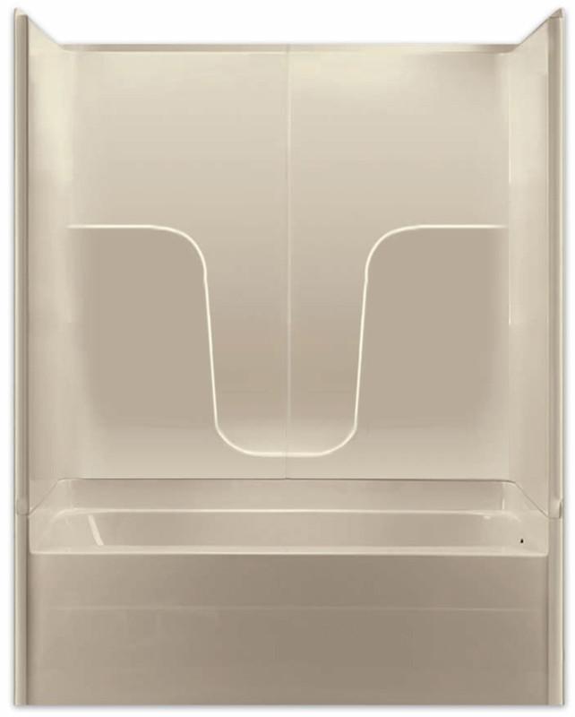 Aquarius Gelcoat 60 x 32.5 Residential Tub Shower Combination 3 ...