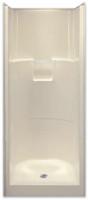 Aquarius Gelcoat 31.75 x 33.75 Residential Shower 2-Piece Sectional w/ Center Drain - G3275SH2P