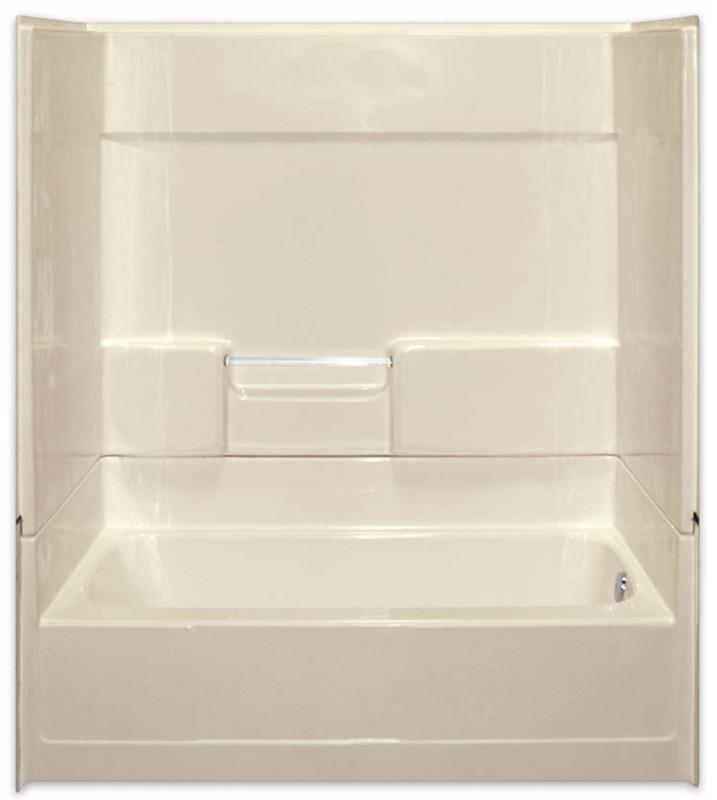 Aquarius Gelcoat 60 x 31.625 Residential Tub Shower Combination 2 ...