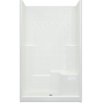 Aquarius Choose Home Series 48 x 37 Gelcoat shower  CHM 3648 SH