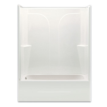 Aquarius Choose Home Series 54 x 27 Gelcoat Tub Shower 2 Piece - CHG ...