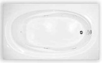 Soaker Tub by Aquarius | Contractor Advantage Series | 72 x 42 Acrylic | RN TAHI 6 TO