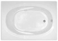 Aquarius Contractor Advantage Series 60 x 42 Acrylic Soaker Tub - RN TAHI 5